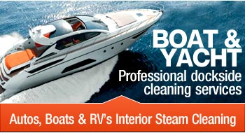 boat & yacht cleaning