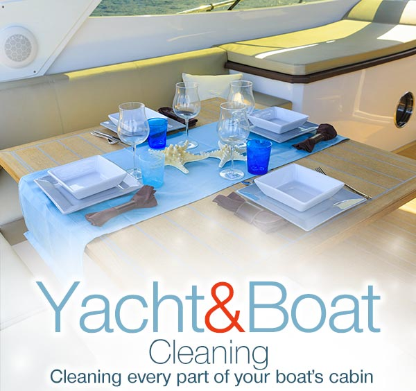 Yacht/Boat Cleaning